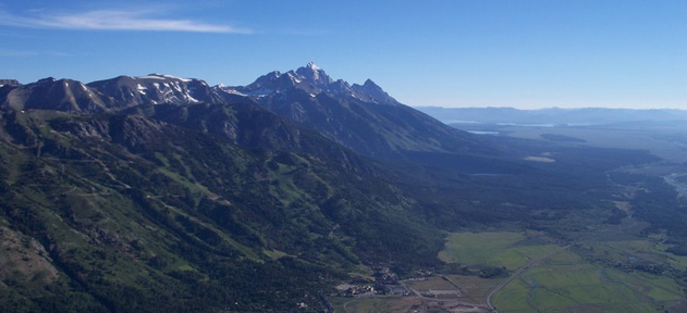 Tetons; looking north.